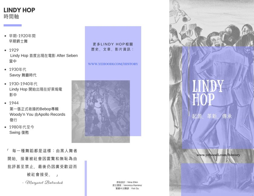 lindy hop history 1